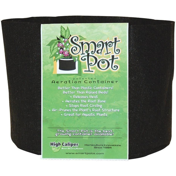 Smart Pot® Black 15 Gal Containers | Fabric Grow Bags
