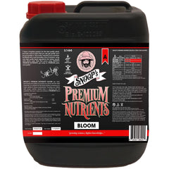 Snoop's Premium Nutrients Bloom A Non-Circulating, 10L