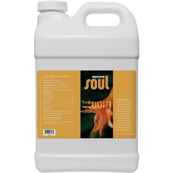 Soul Bloom 2.5 Gal Nutrients | Liquid