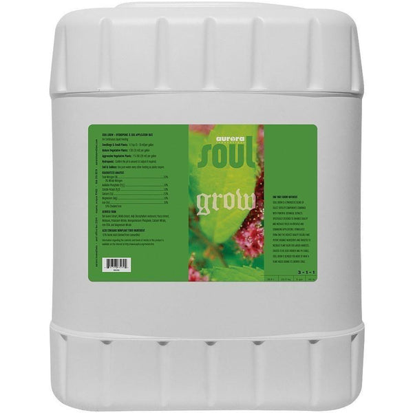 Soul Grow 5 Gal Nutrients | Liquid