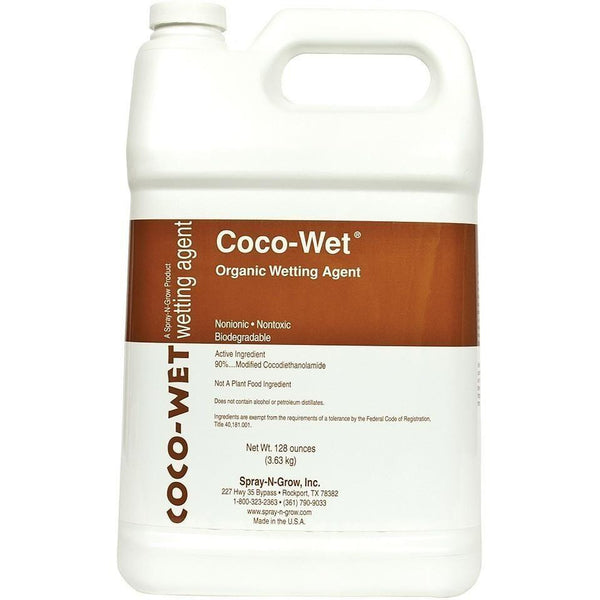 Spray-N-Grow® Coco-Wet® Gal Foliar Sprays | Washes & Wetting