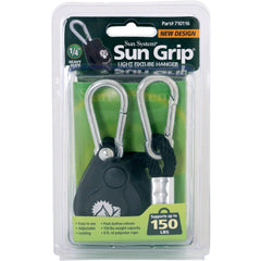Sun Grip® Push Button Heavy Duty Light Hanger, 1/4""