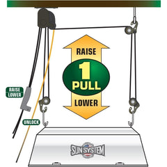 Sun System® Level Lift™ Light Hanger