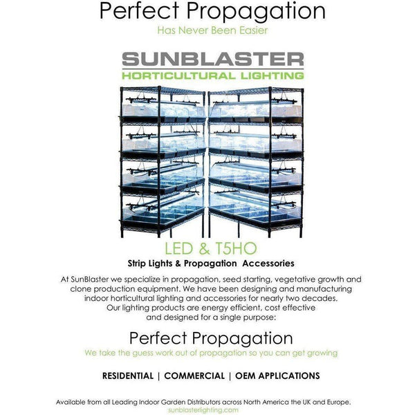 Sunblaster Nanotech T5 Ho 21 Lamp With Reflector 2 Fluorescent | Light Systems