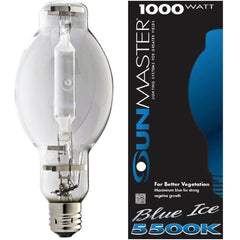 SUNMASTER® Blue Ice HPS Conversion U-37 Lamp, 1000W