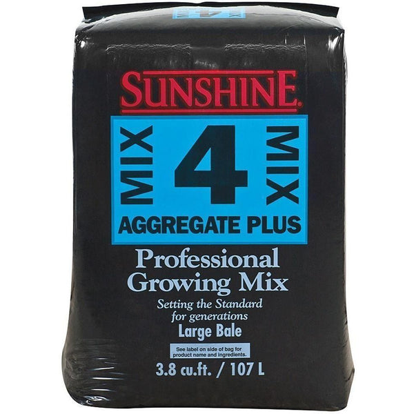 Sunshine® Mix #4 Aggregate Plus 3.8 Cu Ft Grow Media | Soil & Soiless