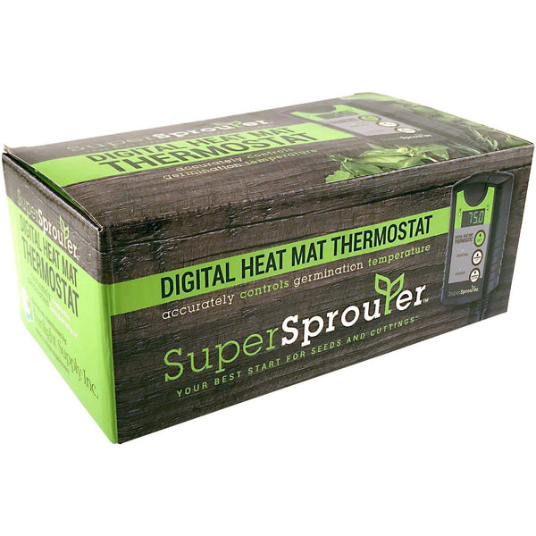 Super Sprouter® Digital Heat Mat Thermostat Seed & Clone | Heating Mats