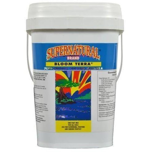 Supernatural® Bloom Terra® 2.26 Kg Nutrients | Granular & Powder