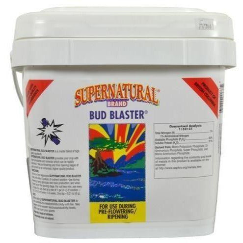 Supernatural® Bud Blaster® 10 Kg Nutrients | Granular & Powder
