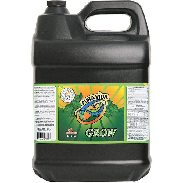 Technaflora® Pura Vida Grow 10L Nutrients | Liquid