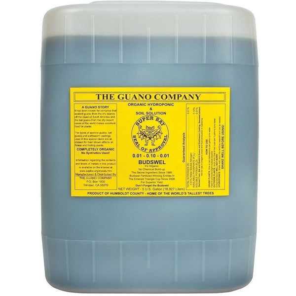The Guano Company Budswel Liquid, 5 gal