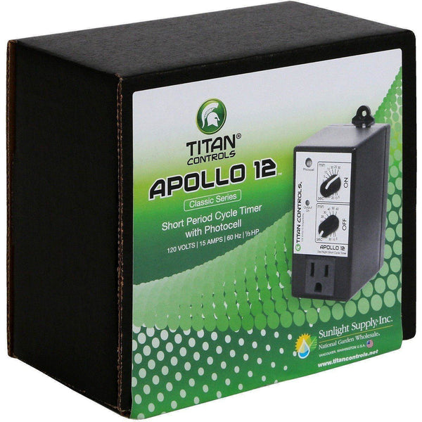 Titan Controls® Apollo® 12 Short Cycle Timer With Photocell Controllers | Timers