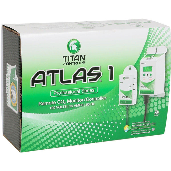 Titan Controls® Atlas® 1 Co2 Monitor / Controller With Remote Sensor Controllers |