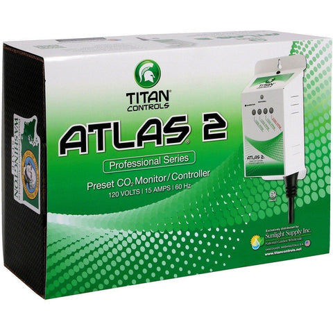 Titan Controls® Atlas® 2, Preset CO2 Monitor/Controller