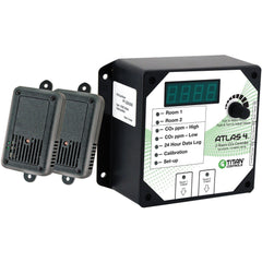 Titan Controls® Atlas® 4, 2 Room CO2 Monitor/Controller
