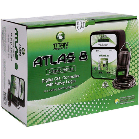 Titan Controls® Atlas® 8, Digital CO2 Controller with Fuzzy Logic
