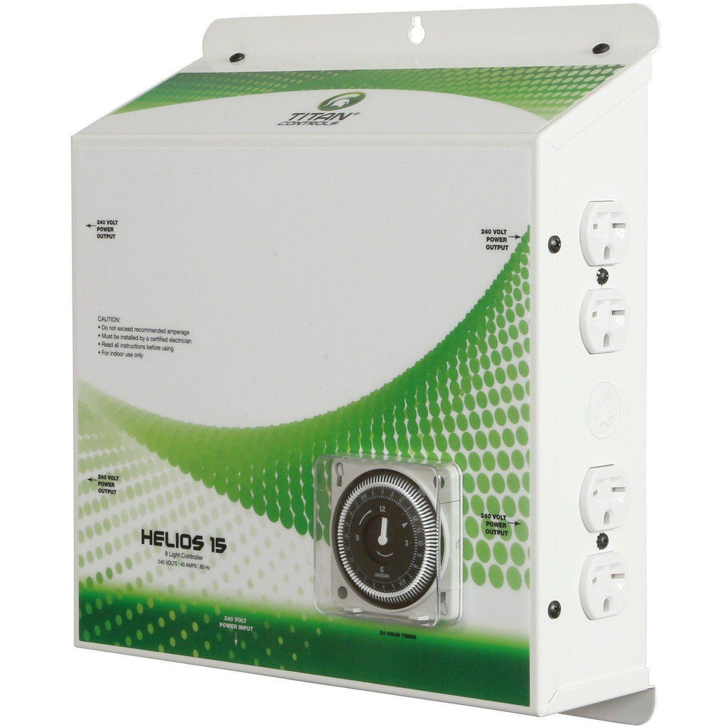Titan Controls® Helios® 15, 8-Light Controller with Timer