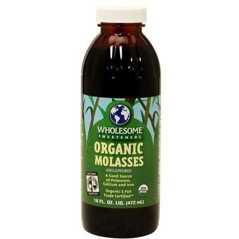 Wholesome Sweetener® Certified Organic Molasses Qt Nutrients | Liquid