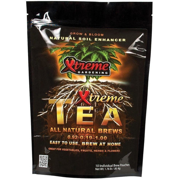 Xtreme Gardening® Tea Brews 90 G | Pack Of 10 Composting Brewing