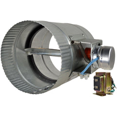 ZoneMaster™ Motorized Damper Open, 6""