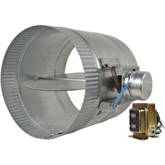 ZoneMaster™ Motorized Damper Open, 8""