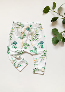 Herb Print Baby Toddler Harem Leggings - Sadie:Baby UK