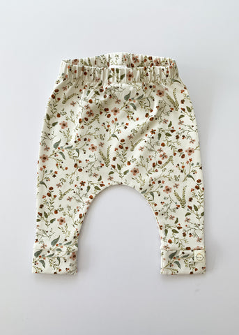 harem leggings | wild flowers - Sadie:Baby UK
