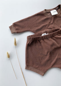 shorty lounge set | fig - Sadie:Baby UK