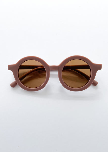 retro sunglasses | mauve - Sadie:Baby UK