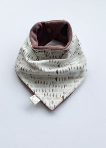 Dash + Fig Terry Dribble Bandana Bib - Sadie:Baby UK