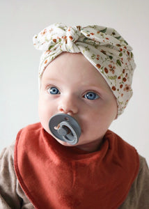 turban hat | wild flowers - Sadie:Baby UK