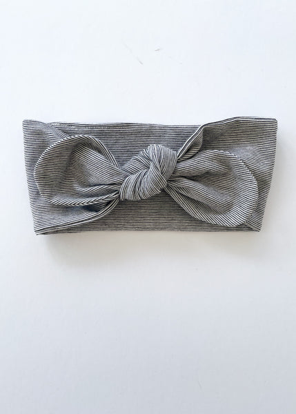 headband | mono stripe - Sadie:Baby UK