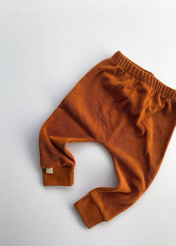 terry leggings | rust - Sadie:Baby UK