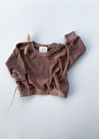 terry sweatshirt | fig - Sadie:Baby UK
