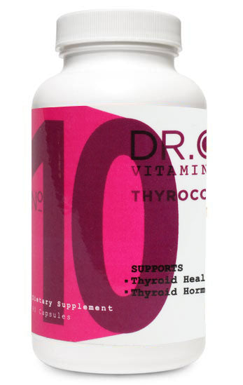 Pharmaceutical-grade vitamins support: Thyroid health • Energy and metabolism • Fat burning • Healthy mood
