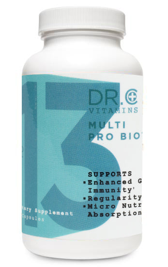 Multi Probiotic Vitamin bottle
