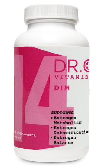 Estrogen Vitamin bottle