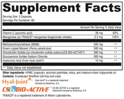 Joint Relief Supplement Facts