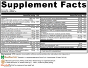 No. 1 multivitamin supplement facts