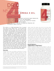 Omega 3 Supplement Information