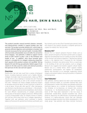 Strong hair and nails information