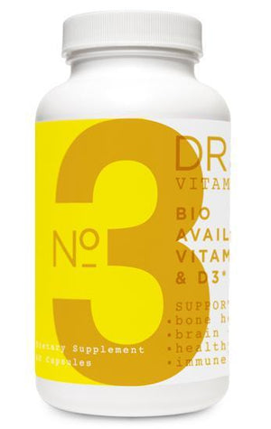 No. 3    Bio Available Vitamins K2 and D3 / 60 caps