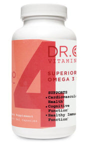 Omega 3 Supplement Bottle