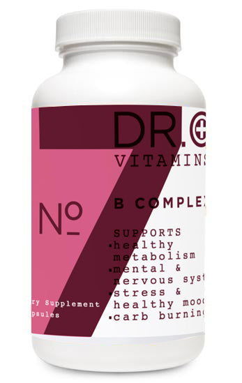 B Complex Supplement bottle