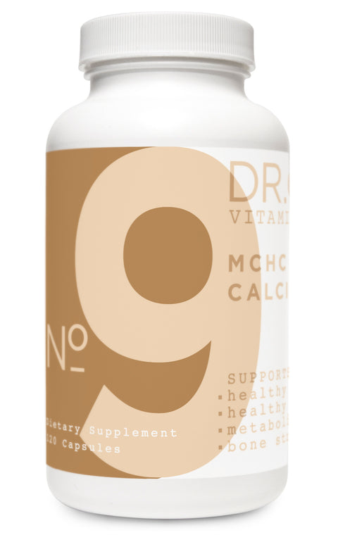 MCHC Calcium Supplement bottle