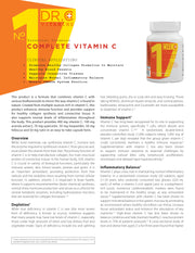 No. 17  Complete Vitamin C / 60 caps