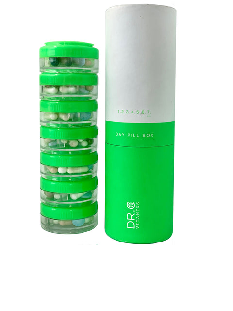 7 DAY AM/PM DETACHABLE PILL BOX