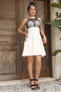 Women's Ecru Tulle Dress
