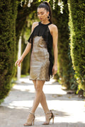 Women's Sequin Cooper Short Evening Dress