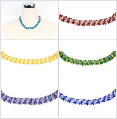 Auckland Beadwork Necklace Beading Kit